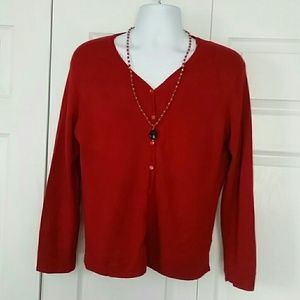 Jaclyn Smith long sleeve top extra large